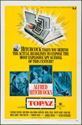 """Movie Posters:Hitchcock, Topaz & Other Lot (Universal, 1969). One Sheets (2) (27"""" X 41""""). Hitchcock.. ... (Total: 2 Items)"""