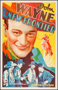 "Movie Posters:Western, The New Frontier (Republic, 1935). One Sheet (27"" X 41.5"").Western.. ..."