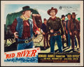 "Movie Posters:Western, Red River (United Artists, 1948). Lobby Card (11"" X 14""). Western.. ..."