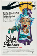 "Movie Posters:Horror, Night of Dark Shadows & Other Lot (MGM, 1971). One Sheet (27"" X41"") John Solie Artwork, & Cut Pressbook (10 Pages, 1..."