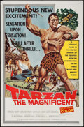 """Movie Posters:Adventure, Tarzan the Magnificent (Paramount, 1960). One Sheet (27"""" X 41""""). Adventure.. ..."""