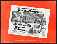 """River of No Return (20th Century Fox, 1954). Uncut Pressbook (16 Pages, 14"""" X 18""""). Western"""