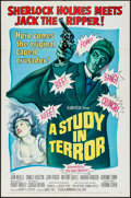 """Movie Posters:Crime, A Study in Terror (Columbia, 1966). One Sheet (27"""" X 41""""). Crime.. ..."""