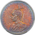 German East Africa, German East Africa: German Colony. Wilhelm II Proof Rupie 1905-JPR65 PCGS,...