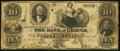 Obsoletes By State:Ohio, Painesville, OH- Bank of Geauga at Painesville Counterfeit $10Faded. ...