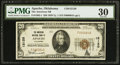 National Bank Notes:Oklahoma, Apache, OK - $20 1929 Ty. 1 The American NB Ch. # 12120. ...