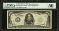 Small Size:Federal Reserve Notes, Fr. 2212-L $1,000 1934A Federal Reserve Note. PMG About Uncirculated 50.. ...