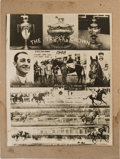 Miscellaneous Collectibles:General, 1948 Citation Triple Crown Composite Photograph....