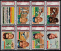 Baseball Cards:Lots, 1956 Topps Baseball PSA Graded Collection (19) With Many Stars. ...