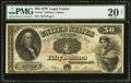 Large Size:Legal Tender Notes, Fr. 154 $50 1878 Legal Tender PMG Very Fine 20 Net.. ...