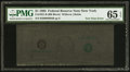Error Notes:Ink Smears, Fr. 1921-B $1 1995 Federal Reserve Note. PMG Gem Uncirculated 65EPQ.. ...