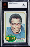 Football Cards:Singles (1970-Now), 1976 Topps Walter Payton #148 BVG NM 7. Offered is...