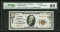 National Bank Notes:Tennessee, Johnson City, TN - $10 1929 Ty. 1 The Hamilton NB Ch. # 13635. ...