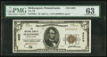 National Bank Notes:Pennsylvania, McKeesport, PA - $5 1929 Ty. 1 The NB of McKeesport Ch. # 4625. ...