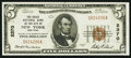 National Bank Notes:New York, New York, NY - $5 1929 Ty. 1 The Chase NB Ch. # 2370. ...