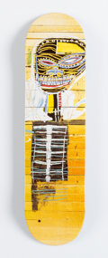 Fine Art - Work on Paper:Print, After Jean-Michel Basquiat X The Skateroom. Gold Griot (OpenEdition), 2016. Screenprint in colors on ...