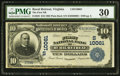 National Bank Notes:Virginia, Rural Retreat, VA - $10 1902 Plain Back Fr. 628 The First NB Ch. #(S)10061. ...