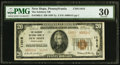 National Bank Notes:Pennsylvania, New Hope, PA - $20 1929 Ty. 2 The Solebury NB Ch. # 11015. ...