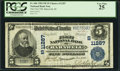 National Bank Notes:South Carolina, Barnwell, SC - $5 1902 Plain Back Fr. 606 The First NB Ch. # (S)11287. ...