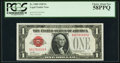 Small Size:Legal Tender Notes, Fr. 1500 $1 1928 Legal Tender Note. PCGS Choice About New 58PPQ.. ...