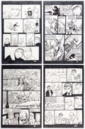 Original Comic Art:Complete Story, Brien Cardello Tears Like Water #2 Complete 32-Page Storyand Inside Back Cover Original Art (Tears Like Water Pro... (Total:33 Original Art)