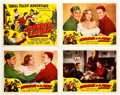 Memorabilia:Poster, Thunder in the Pines Lobby Card Set of 8 (Screen GuildProductions, 1948).... (Total: 8 Items)