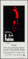 "Movie Posters:Crime, The Godfather (Paramount, 1972). Italian Locandina (13"" X 27.25"").Crime.. ..."