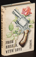 """Movie Posters:James Bond, From Russia with Love by Ian Fleming (The Book Club, 1957). BritishHardcover Book (Approx. 5"""" X 7.5""""). James Bond. ..."""