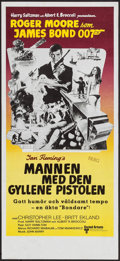 "Movie Posters:James Bond, The Man with the Golden Gun (United Artists, 1974). Swedish Insert(12.5"" X 27.5""). James Bond.. ..."