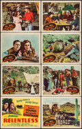 Movie Posters:Western, Relentless (Columbia, 1947). Lobby Card Set of 8 (...