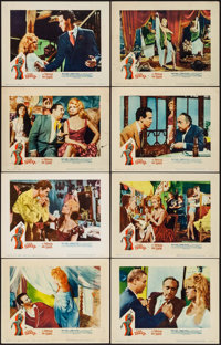 "A Woman Like Satan (Lopert, 1959). Lobby Card Set of 8 (11"" X 14""). Bad Girl. ... (Total: 8 Items)"