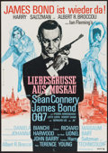 """Movie Posters:James Bond, From Russia with Love (United Artists, R-1970s). German A1 (23.25"""" X 33""""). James Bond.. ..."""