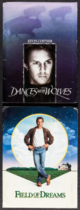 """Movie Posters:Western, Dances with Wolves & Other Lot (Orion, 1990). Presskits (2) (9""""X 12""""). Western.. ... (Total: 2 Items)"""