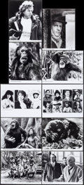 "Movie Posters:Adventure, Greystoke: The Legend of Tarzan, Lord of the Apes (Warner Brothers,1983). Photo (22) (8"" X 10""). Adventure.. ... (Total: 22 Items)"