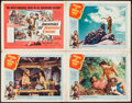 "Movie Posters:Adventure, Adventures of Robinson Crusoe & Others Lot (United Artists,1954). Lobby Cards (4) & Lobby Card Set of 8 (11"" X 14""), &One ... (Total: 19 Items)"