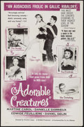 """Movie Posters:Foreign, Adorable Creatures & Other Lot (Continental, 1956). One Sheets (2) (27"""" X 41""""). Foreign.. ... (Total: 2 Items)"""