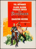 "Movie Posters:Adventure, The Buccaneer (Paramount, 1958). Poster (30"" X 40""). Adventure....."