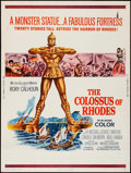 "Movie Posters:Adventure, The Colossus of Rhodes (MGM, 1961). Poster (30"" X 40""). Adventure....."