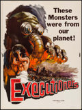 """Movie Posters:Documentary, The Executioners & Other Lot (Vitalite Films, 1959). Posters (2) (30"""" X 40""""). Documentary.. ... (Total: 2 Items)"""