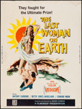 "Movie Posters:Science Fiction, The Last Woman on Earth (Filmgroup, 1960). Poster (30"" X 40"").Science Fiction.. ..."