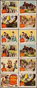 "Movie Posters:Adventure, A Thousand and One Nights (Columbia, 1945). Title Lobby Card & Lobby Cards (11) (11"" X 14""). Adventure.. ... (Total: 12 Items)"