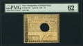 Colonial Notes:New Hampshire, New Hampshire April 29, 1780 $4 PMG Uncirculated 62.. ...
