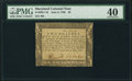 Colonial Notes:Maryland, Maryland June 8, 1780 $2 PMG Extremely Fine 40.. ...