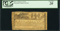 Colonial Notes:Maryland, Maryland July 26, 1775 $1 PCGS Very Fine 20.. ...