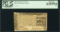 Colonial Notes:Maryland, Maryland April 10, 1774 $1/3 PCGS Choice New 63PPQ.. ...