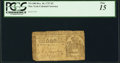 Colonial Notes:New York, New York December 10, 1737 £3 PCGS Fine 15.. ...