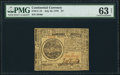 Colonial Notes:Continental Congress Issues, Continental Currency July 22, 1776 $7 PMG Choice Uncirculated 63 Net.. ...