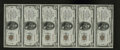 National Bank Notes:Pennsylvania, Huntingdon, PA - $5 1929 Ty. 1 The First NB Ch. # 31 Uncut Sheet.This sheet is the first of three newly discovered all ...