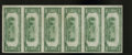National Bank Notes:Pennsylvania, Huntingdon, PA - $20 1929 Ty. 1 The First NB Ch. # 31 Uncut Sheet.Again this is an all serial number 2 uncut sheet and ...