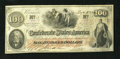 Confederate Notes:1862 Issues, T41 $100 1862. This C-note is embossed and fully framed. ChoiceCrisp Uncirculated....
